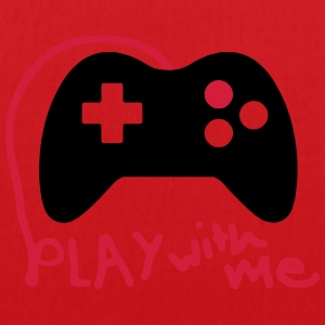 Play with me / Konsole / Gaming / Controller - Stoffbeutel
