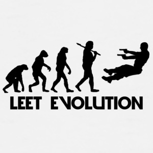 Leet Evolution - Men's Premium T-Shirt
