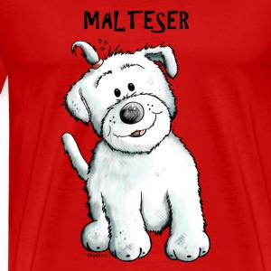 Funny Malteser Long Sleeve Shirts - Men's Premium T-Shirt
