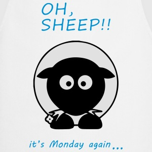 Oh Sheep! Its monday again - Kochschürze