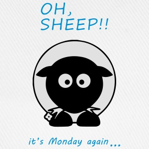 Oh Sheep! Its monday again - Casquette classique