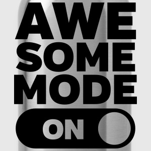 Awesome Mode (On) T-shirts - Drikkeflaske