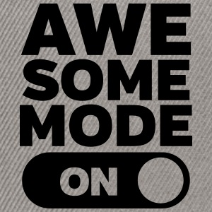 Awesome Mode (On) T-shirts - Snapback Cap