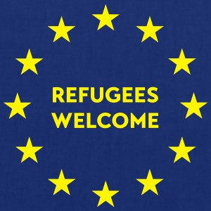 Refugees welcome in EU Tops - Stoffbeutel