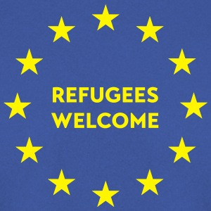 Refugees welcome in EU Tops - Männer Pullover
