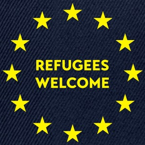 Refugees welcome in EU Sports wear - Snapback Cap