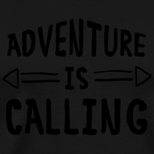 Adventure Is Calling Tank Tops - Men's Premium T-Shirt