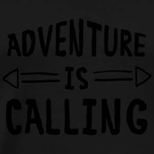 Adventure Is Calling Sports wear - Men's Premium T-Shirt
