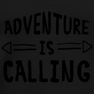 Adventure Is Calling Bags & Backpacks - Men's Premium T-Shirt