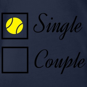 Tennis Single T-Shirts - Baby Bio-Kurzarm-Body