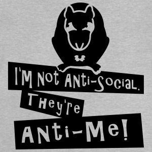 I'm not Anti-Social (rat, 1c) Shirts - Baby T-Shirt