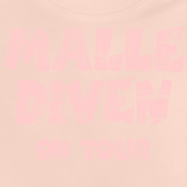 Malle Diven On Tour T-Shirt (Pink)