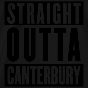 Straight Outta Canterbury - New Zealand Rugby - Ho - Men's Premium T-Shirt