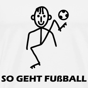 So geht Fußball Sports wear - Men's Premium T-Shirt