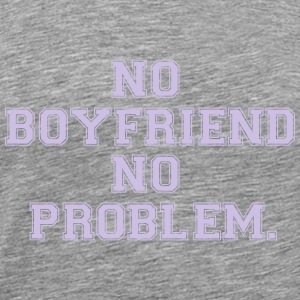 NO FRIEND - NO PROBLEMS Manga larga - Camiseta premium hombre