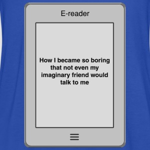 Book title - Boring T-Shirts - Women's Tank Top by Bella