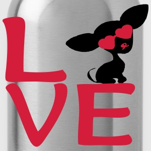CHIHUAHUA MY LOVE T-Shirts - Trinkflasche