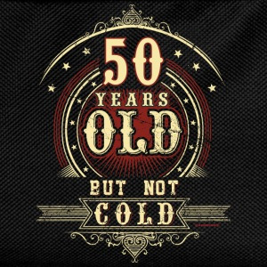 Geburtstag 50 old but not cold RAHMENLOS® T-Shirts - Kinder Rucksack