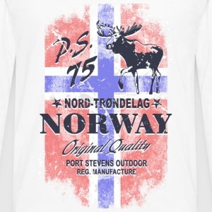 Norway Moose - Vintage Flag Sports wear - Men's Premium Longsleeve Shirt