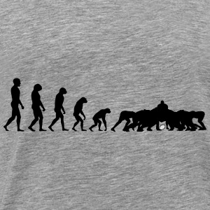Evolution Rugby Scrum - Hoodie - Men's Premium T-Shirt