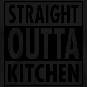 Straight Outta Kitchen Sweaters - Mannen Premium T-shirt
