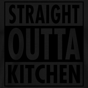 Straight Outta Kitchen Pikétröjor - Premium-T-shirt herr
