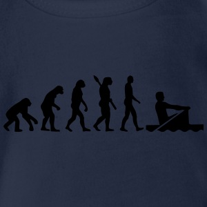 Evolution Rudern T-Shirts - Baby Bio-Kurzarm-Body