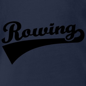 Rowing T-Shirts - Baby Bio-Kurzarm-Body