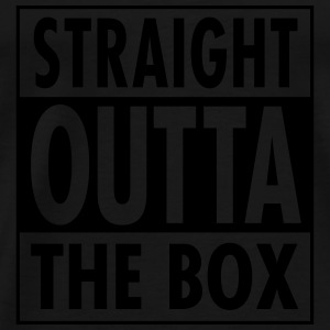 Straight Outta The Box Toppe - Herre premium T-shirt