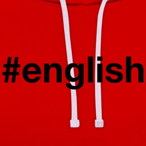 ENGLAND T-Shirts - Contrast Colour Hoodie