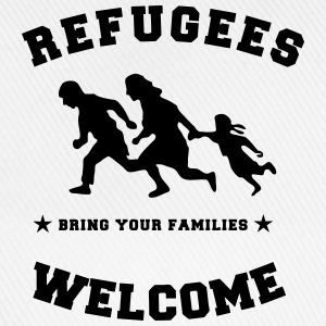 refugees welcome T-Shirts - Baseball Cap