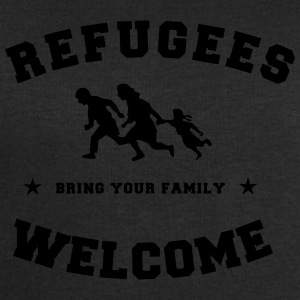 refugees welcome Tee shirts - Sweat-shirt Homme Stanley & Stella