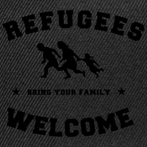 refugees welcome Tee shirts - Casquette snapback