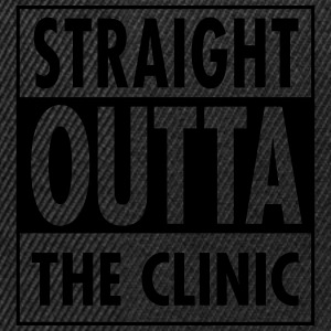 Straight Outta The Clinic T-shirts - Snapbackkeps