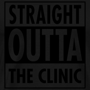 Straight Outta The Clinic Sweaters - Mannen Premium T-shirt