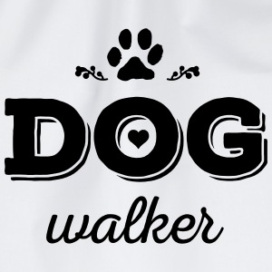DOG walker T-Shirts - Turnbeutel