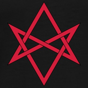 Masonic Unicursal Hexagram Caps & Hats - Men's Premium T-Shirt