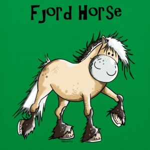 Happy Fjord Horse T-Shirts - Tote Bag