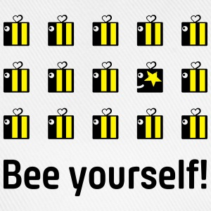 bee yourself T-Shirts - Baseball Cap