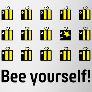 bee yourself T-Shirts - Mug