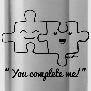 You Complete Me T-Shirts - Trinkflasche