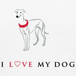 I love my dog - Männer Premium T-Shirt