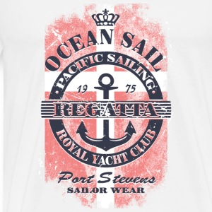 Ocean Sail Regatta - Denmark Sailing Tops - Men's Premium T-Shirt