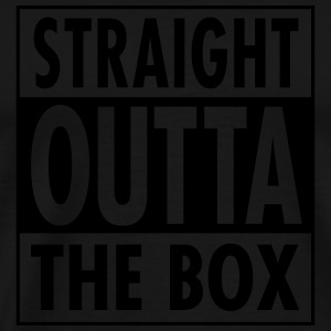Straight Outta The Box Débardeurs - T-shirt Premium Homme
