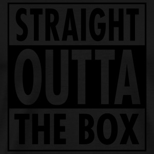 Straight Outta The Box Pikétröjor - Premium-T-shirt herr