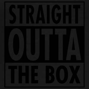 Straight Outta The Box Underkläder - Premium-T-shirt herr