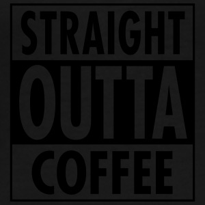 Straight Outta Coffee Autres - T-shirt Premium Homme
