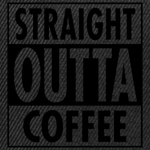 Straight Outta Coffee T-shirts - Snapbackkeps