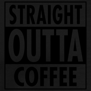 Straight Outta Coffee Sweaters - Mannen Premium T-shirt