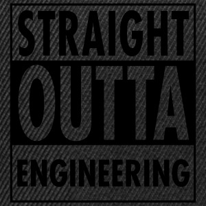 Straight Outta Engineering T-shirts - Snapbackkeps